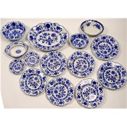 13 Piece Johnson Bros. Plate Set   (106393)