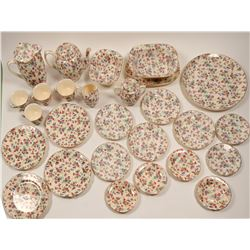German Tea Set and Dessert Plates   (106396)