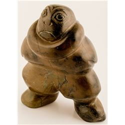 Stylized Inuit Sculpture   (50546)