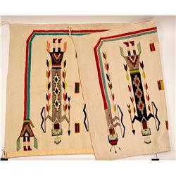 Yei, Navajo Wool Rug   (91335)