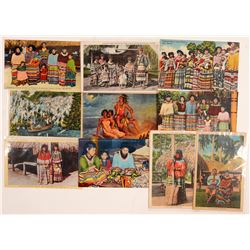 Seminole Indian Postcards   (104624)