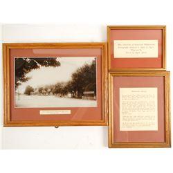Wadsworth, NV Framed Photo and More   (87652)