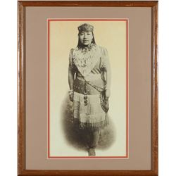 Framed Print of Sarah Winnemucca   (87638)