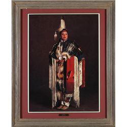 Native American Woman in Pow Wow Attire   (87649)