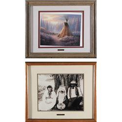 Washoe Indians Framed Prints   (87734)