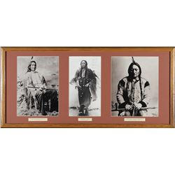 3 Chiefs Framed Photo's   (98046)