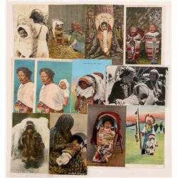 American Indian Papoose Postcards   (104625)
