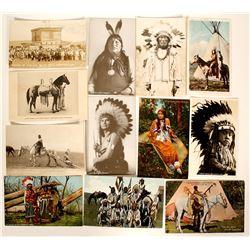 Crow & Cheyenne Post Cards   (100515)