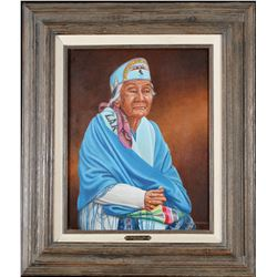 Gussie Williams Oil by William Moore   (98032)