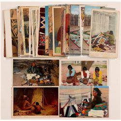 Indian Crafts Postcards   (104622)