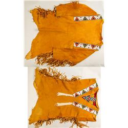 Native American Beaded Deerskin Shirt   (48567)