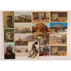 Native American Post Cards   (105268)