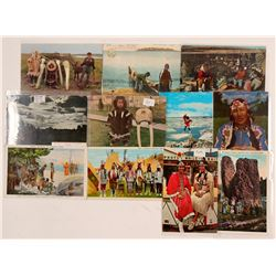 PNW Indian Postcards   (104623)