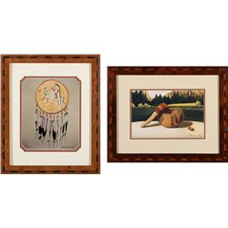 Robert Montanucci Framed Prints (2)   (87737)