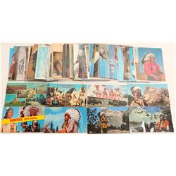 Sioux Indian postcards   (100425)