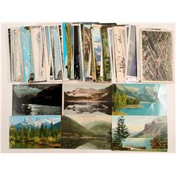 Canadian Rockies Postcards   (91389)