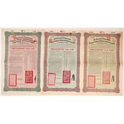 Tienstin-Pukpow Railway Loan Bonds, 1912   (106570)