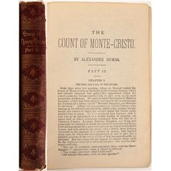 "Rare Book  / "" The Count Of Monte Cristo "" , Part II   (105412)"