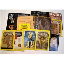Egypt (approx. 11 magazines & books)   (84467)