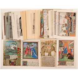 Historical Art and Manuscripts Postcards   (104987)