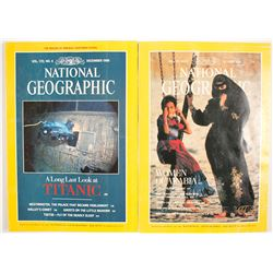 National Geographic Titanic Issues (2)   (84811)