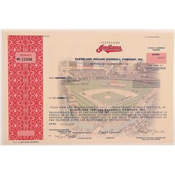 Cleveland Indians Baseball Co., Inc.   (106322)