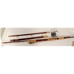 Penn 140M Reel and Garcia 4 Piece Surf Rod   (105663)