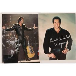 Photo's / Wayne Newton & Elvis Impersonator / 2 Items   (105398)