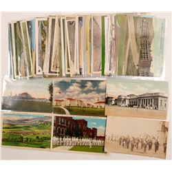 Military Bases Postcards   (104986)