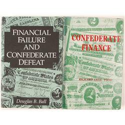 Confederate Finance Books (2)   (58602)