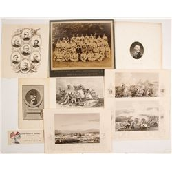 Military Engravings & Photograph   (77641)