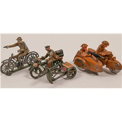 Military Motorcycle Toys (3)   (105685)