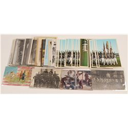 Soldiers Postcards   (105335)
