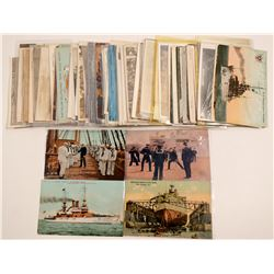 US Navy Ship Postcards   (105349)