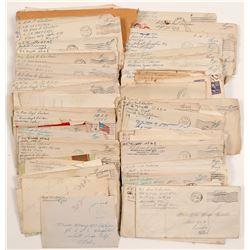 WW2 Military Mail   (105070)