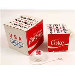 Phone/ Coca Cola  Cube Speaker Phone & Duncan Yo-Yo / 2 Items.   (105000)