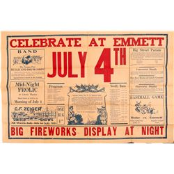 Ephemera / 4th of July Celebratory Flyer   (105364)