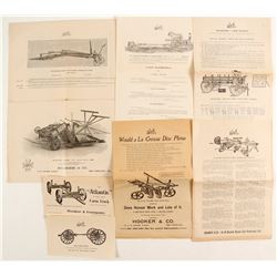 Farm Equipment Catalogs (2)   (88326)