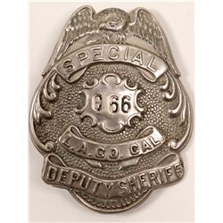 Special Deputy Sheriff, LA County Badge   (106359)