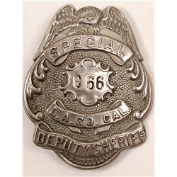 Special Deputy Sheriff, LA County Badge   (106359)