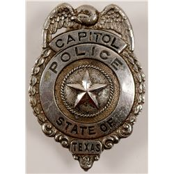 Texas Capitol Police Badge   (106357)