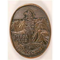 Sierra Club Bronze Belt Buckle   (105670)