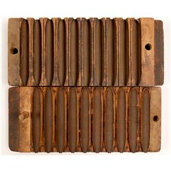 Wood Cigar Rolling Mould   (106504)