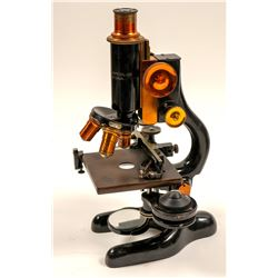 Vintage Bausch & Lomb Microscope with Case   (105676)