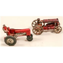 Arcor Rubber Tractor and AC Williams Cast Iron Tractor   (105687)