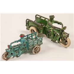 Cast Iron Motorcycle with Beds Toys (2)   (106353)