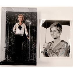 Photo & Doll / Barbara Streisand / 2 Items   (105403)