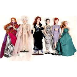 Dolls (Lot of 6 Collectibles)   (106014)