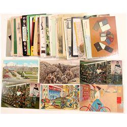 Advertising Postcards   (104971)