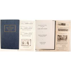 ASARCO Safety Bulletins (3) and Daniel Jackling Book   (86465)